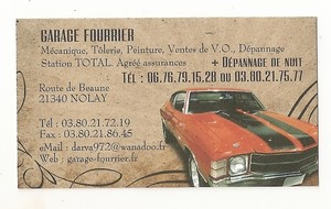 GARAGE FOURRIER  -  NOLAY